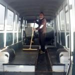 Préparation du bus